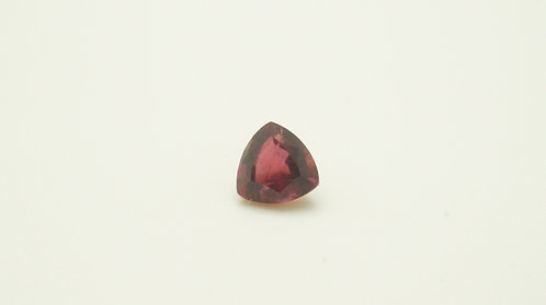Hydrothermal Red Beryl, Trillion 6x6 mm, Weight 0.71 cts