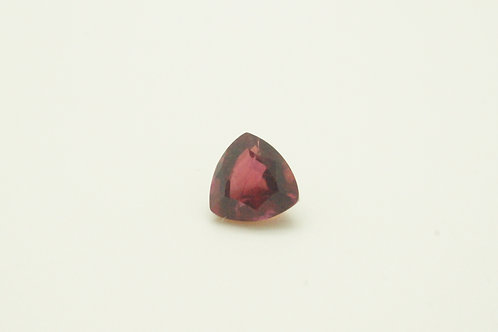 Hydrothermal Red Beryl , Trillion 6x6 mm, Weight 0.71 cts