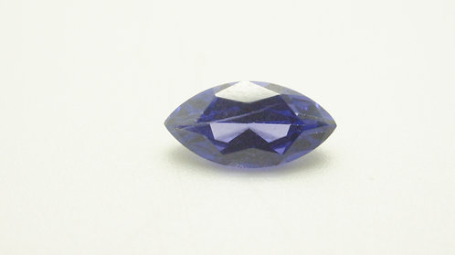 Simulated Tanzanite, Marquise10x5mm, Weight 1.58cts