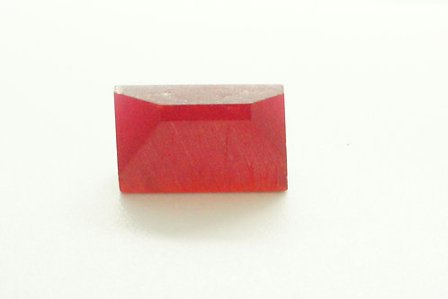 Hydrothermal Red Beryl 21.22 cts Thickness 6.7 mm