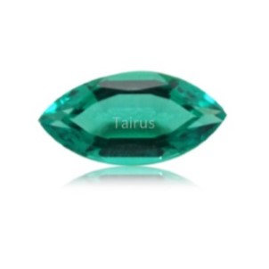 Created Emerald Colombian Color Marquise