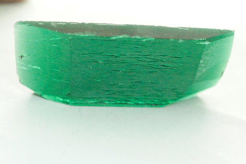 Hydrothermal Emerald 92.39 cts Thickness 6.4 mm