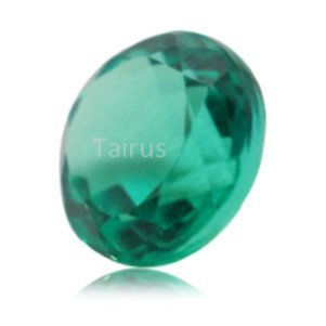 Created Emerald Colombian Color  Round