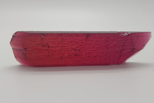 Hydrothermal Red Beryl, Thickness 5.7 mm, Length 99 mm, Weight 141.81 cts c