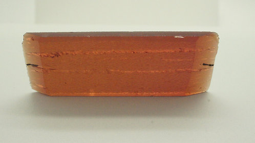 Hydrothermal Orange color Beryl, Length 63 mm, Weight 57.40 cts