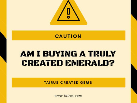 Am I really buying a Created Emerald?