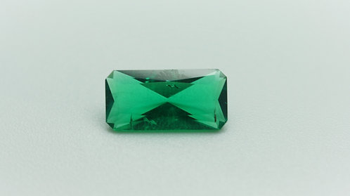 Hydrothermal Emerald Colombian color, Octagon/Radiant 14x7 mm, Weight 2.83 cts