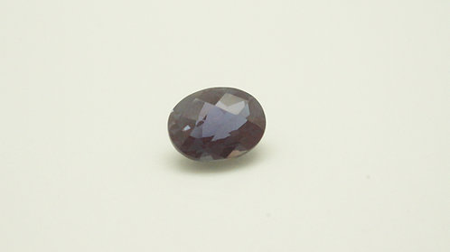 Pulled Alexandrite, Oval Checkerboard 9x7 mm, Weight 2.48 cts
