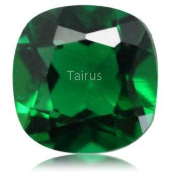 Created Emerald Regular Color Cushion