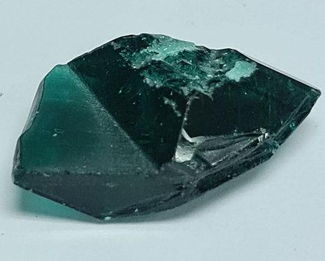 Platinum type Created emerald full crystal