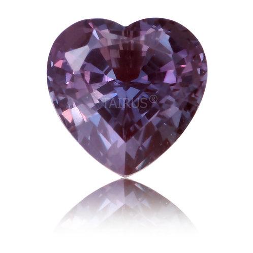 Created Alexandrite Heart