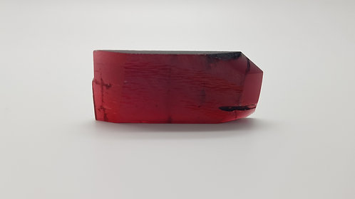 Hydrothermal Red Beryl, Thickness 5.5 mm, Length 52 mm, Weight 71.84 cts