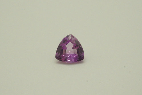 Created Pink Sapphire, Trillion 7x7 mm, Weight 1.32 cts