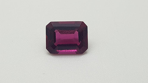 Hydrothermal Violet color Beryl, Octagon 9x7 mm, Weight 2.02 cts