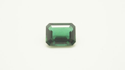 Hydrothermal Emerald Regular color, Octagon 10.6X8.3mm,Weight 3.14cts