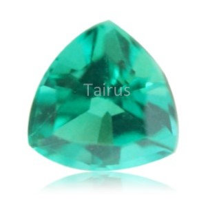Created Emerald Colombian Color Trillion
