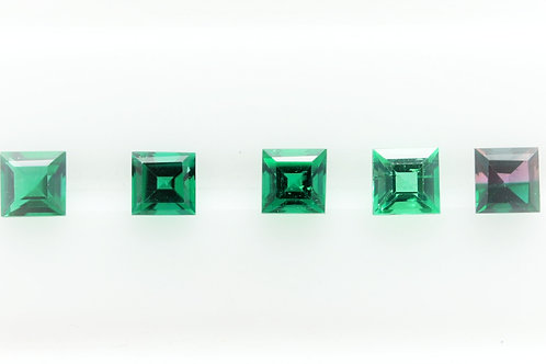 Hydrothermal Emerald Set