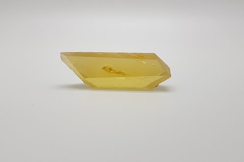 Hydrothermal Yellow Sapphire, Length 70 mm, Weight 189.75 cts