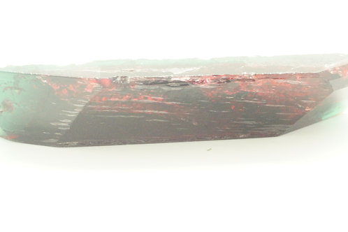 """Hydrothermal Bi-color Beryl """"Watermelon"""", Thickness 14 mm, Weight 192.03 cts"""