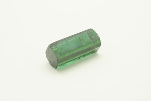 Hydrothermal Emerald Crystal Regular color,Length 20 mm, Weight 19.60 cts