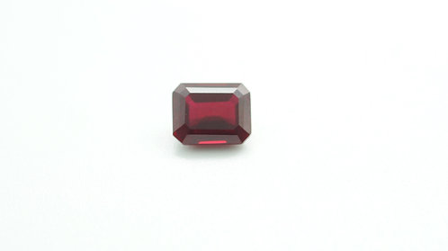Created Ruby Burma, Octagon 10x8 mm, Weight 4.38 cts