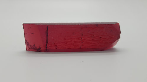 Hydrothermal Red Beryl, Thickness 6.5 mm, Length 68 mm, Weight 105.53 cts