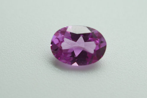 Pulled Lilac Spinel Oval 7x5 mm, Weight 0.83cts