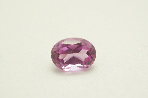 Pulled Pink Spinel, Oval 8x6 mm, Weight 1.50cts