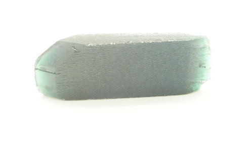 Hydrothermal Dark Teal colorBeryl, Length 60mm, Weight 128.19 cts