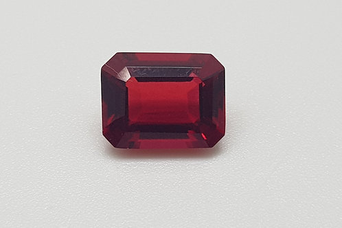 Hydrothermal Red Beryl, Octagon 9x7 mm, Weight 2.02 cts