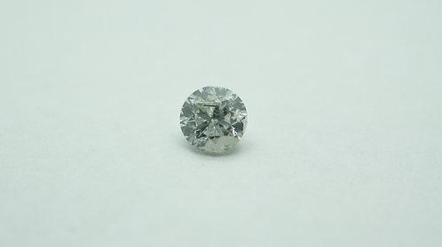 Lab grown Diamond Round 6.65mm 1.24cts