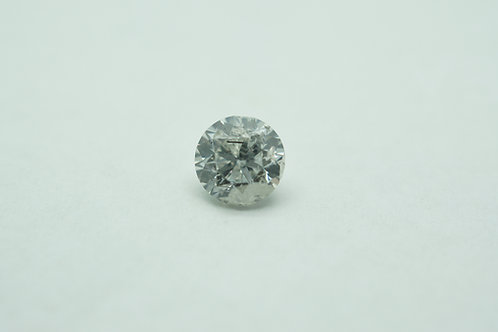 Lab grown Diamond Round 6.65mm 1.24cts