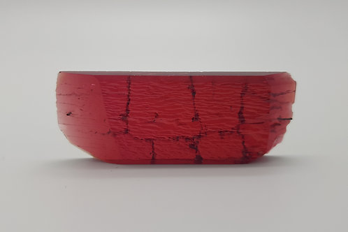 Hydrothermal Red Beryl, Thickness 4.9 mm, Length 60 mm, Weight 72.20 cts