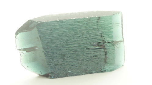 Hydrothermal Dark Teal color Beryl, Length 40 mm, Weight 77.81 cts