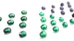 Created Emerald and Created Alexandrite