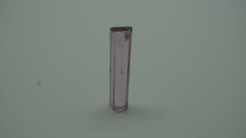 Hydrothermal Morganite Crystal, Length 26 mm, Weight 9.30 cts