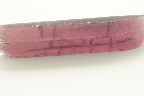 Hydrothermal Violet color Beryl, Length 75 mm, Weight 76.25 cts