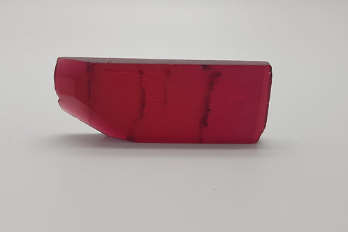 Hydrothermal Red Beryl, Thickness 6.1 mm, Length 54 mm, Weight 81.72 cts