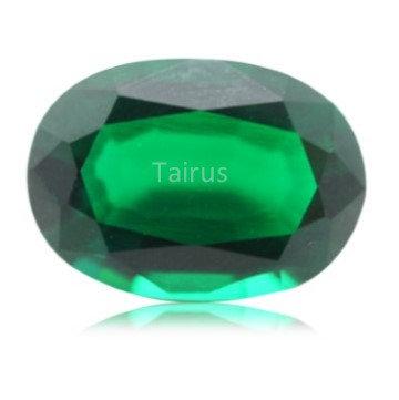 Created Emerald Regular Color  Oval