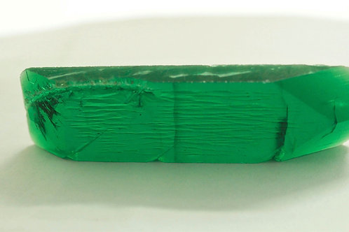 Hydrothermal Emerald Colombian color 97.71 cts Thickness 7.0 mm