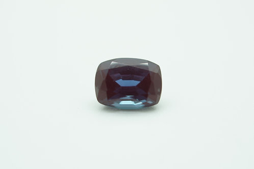 Pulled Alexandrite, Antique Cushion 9x7 mm, Weight 2.81 cts