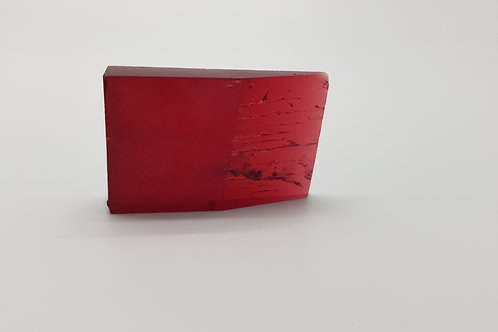 Hydrothermal Red Beryl, Thickness 6.8 mm, Length 34 mm, Weight 53.50 cts