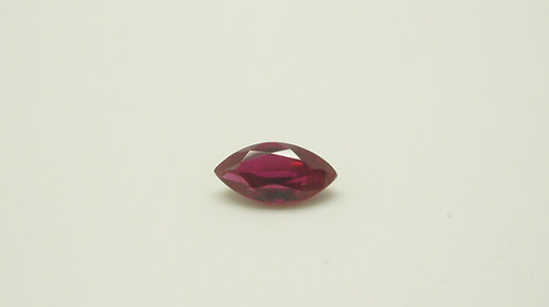 Floating Ruby, Marquise 10x5 mm, Weight 1.55 cts