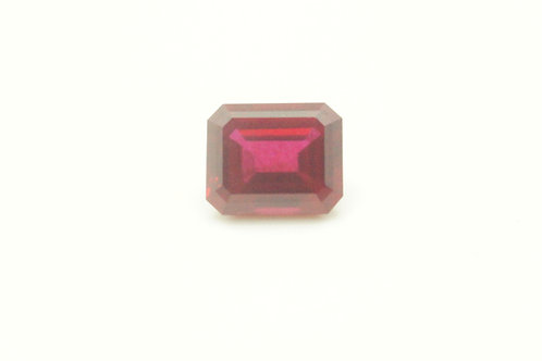 Hydrothermal Ruby, Octagon 11x9 mm, Weight 5.82 cts