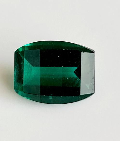 Barrel cut created Emerald 9x7 mm