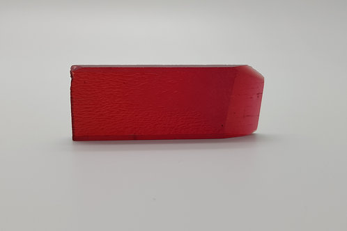 Hydrothermal Red Beryl, Thickness 4.5 mm, Length 57 mm, Weight 67.58 cts