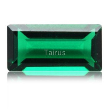 Created Emerald Regular Color Baguette