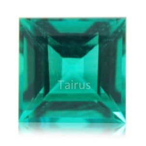 Created Emerald Colombian Color Square
