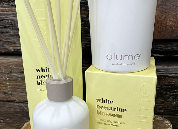 Elume luxury candle and Reed diffuser combination