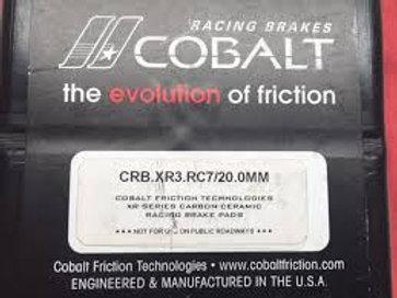 Cobalt XR3 Brake Pads for Wilwood